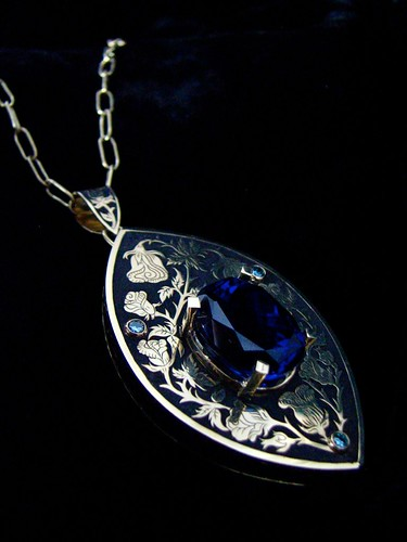Tanzanite Pendant Project 5