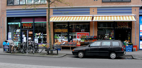 Indiase winkel Pak op de Kruiskade in Rotterdam