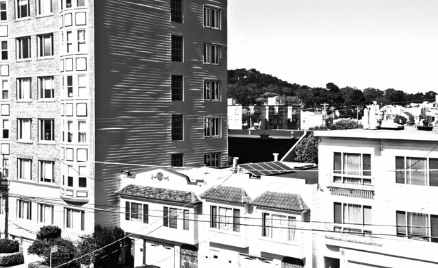 On the day of the Transit of Venus / 06-05-2012; POV 1333 26th avenue; The Sunset, San Francisco