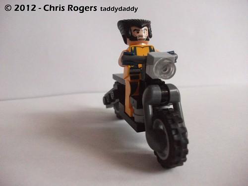 Lego Wolverines Harley 4