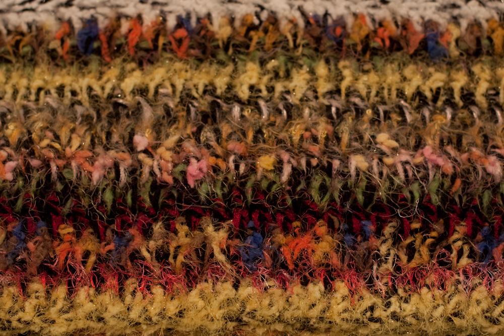 Scraptastic Novelty Yarn Afghan