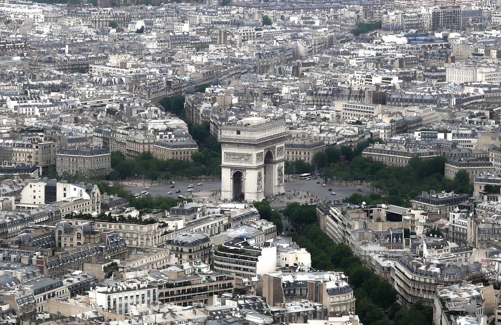 Paris Arch De Troimph