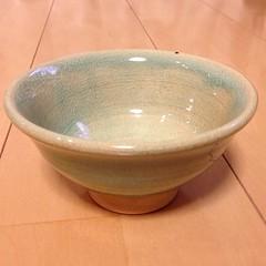 沖縄で作ったお茶碗が来たどー!いいかんじかもよぉ