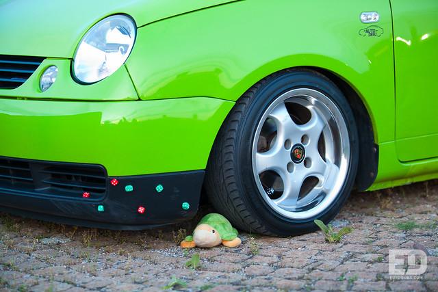 Green Volkswagen Lupo