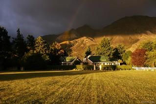 Grasmere Lodge rainbow