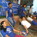 Plan staff donating blood to mark Plan Nepal's 35th anniversary