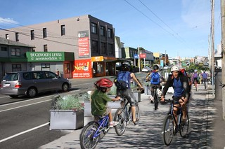 Riding from Island Bay to the Waterfront - the future?