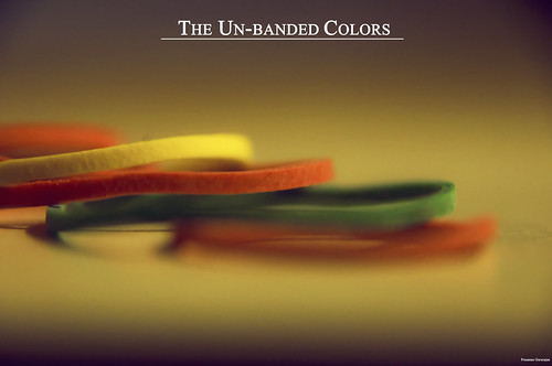The unbanded colors