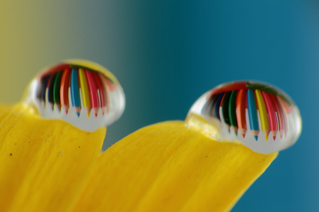 Pencils and drops