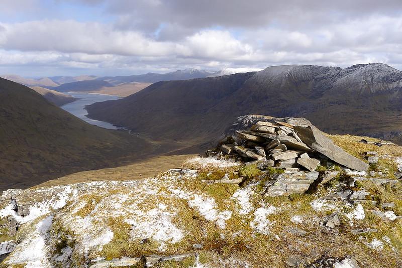 Loch Monar from Beinn Tharsuinn