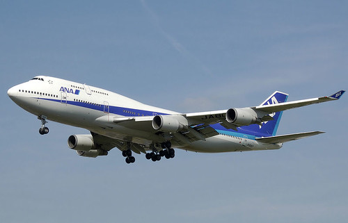 ALL NIPPON AIRWAYS by roberthuffstutter