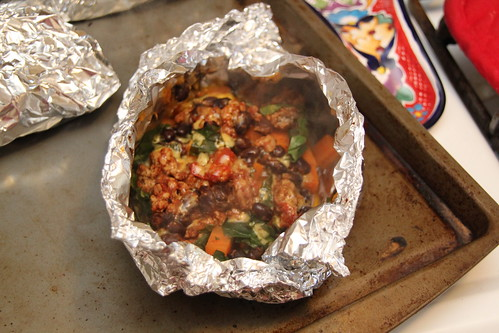 Sweet Potato Foil Packets