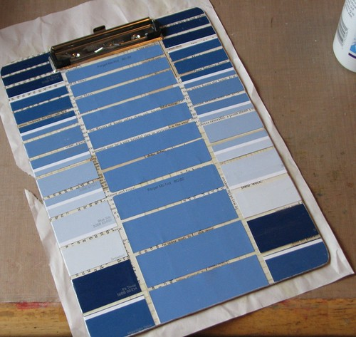 Paint Chip Clipboard 016