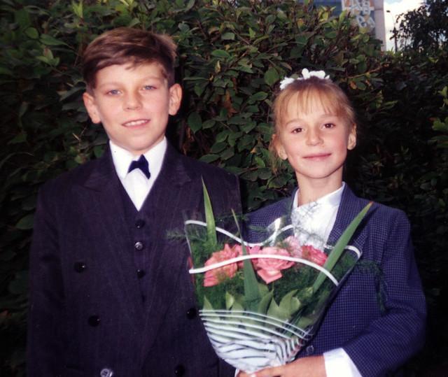 Vova_&_Olga,_1_Sep_1997