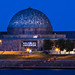 Moonrise Over Adler Planetarium by Chris Smith/Out of Chicago