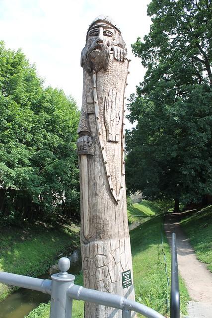 Drewniany Rycerz - Świątek