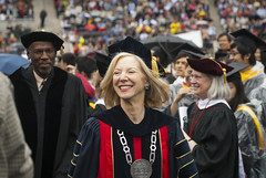 Penn President Amy Gutmann at Commencement 2012