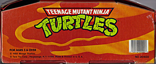 "Tara Toy Corp. :: ""TEENAGE MUTANT NINJA TURTLES"" - COLLECTORS CASE x (( 1988 ))"