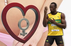 Usain Bolt Runs Away From His Girlfriend