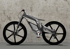 ウィリーアシストを搭載した電動アシスト自転車「アウディ e-バイク・ヴェルターゼ( The Audi e-bike Wörthersee )」登場