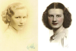 my grandmothers in the '30s by ceck0face