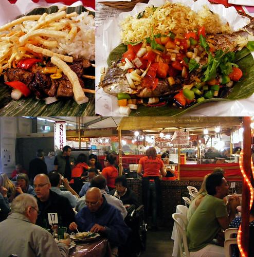 Restaurant Anugerah op de TongTong Fair