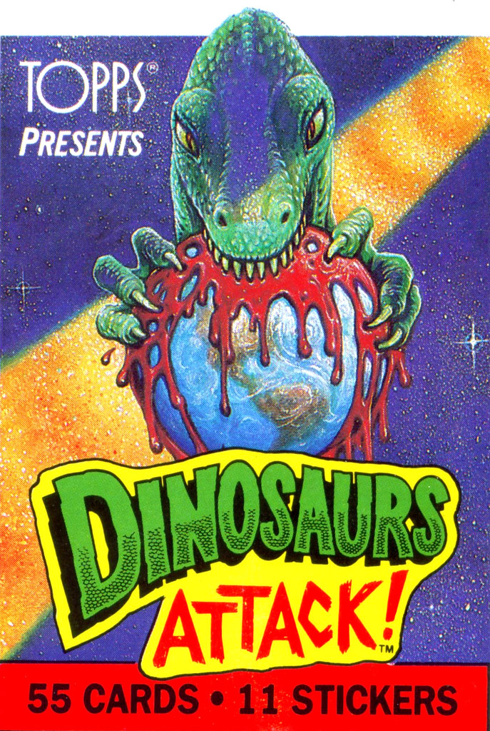 Dinosaurs Attack! Title Card
