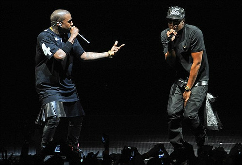 """Watch The Throne Tour Stage """"watch The Throne"""" Tour on"""