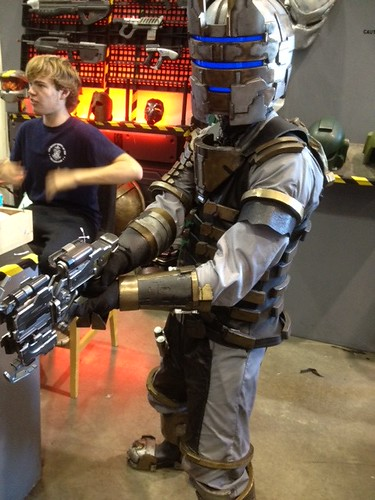 Maker Faire 2012 Dead Space armor