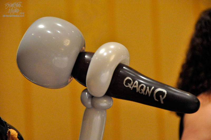 QAQN Balloon Microphone.  Photo by Trisha Lyn Fawver