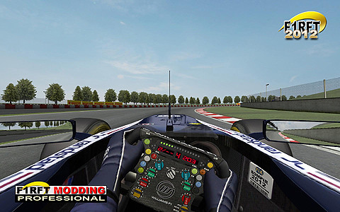 [rFactor] F1RFT 2012 Williams InGame Cockpit