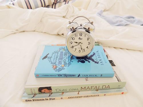 novos livros em casa