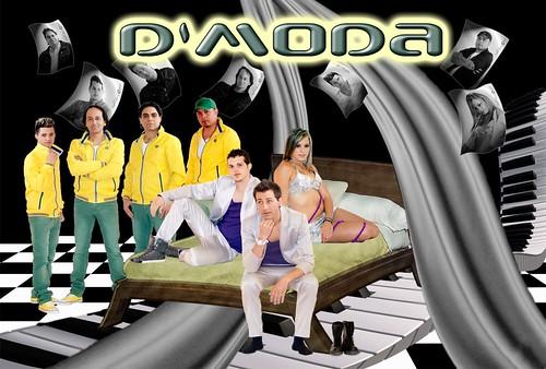 Grupo D'Moda 2012 - cartel