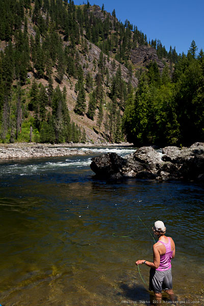 selway river fishing