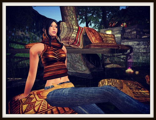:: PurpleMoon :: Casual Look #3 - 60 lindens weekend by Cherokeeh Asteria