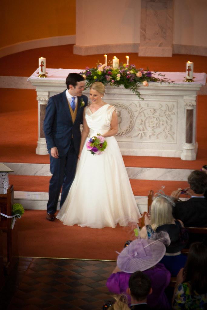 Ross and Carol's wedding