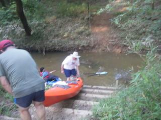 Broad River Paddling May 26, 2012 6-56 PM