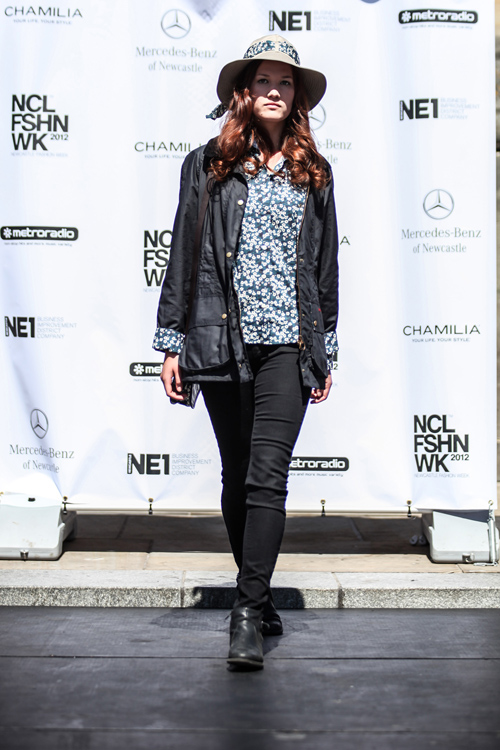 NE1's NFW 2012 - 27th May - Full Barbour Fashion Show-386