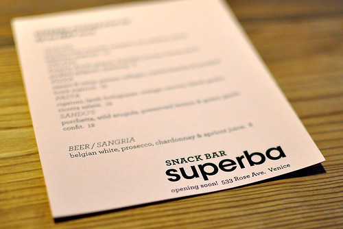 Superba Snack Bar - Los Angeles (Venice)