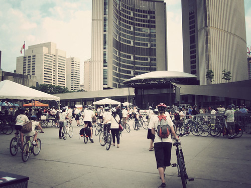 Toronto Bike to Work Day