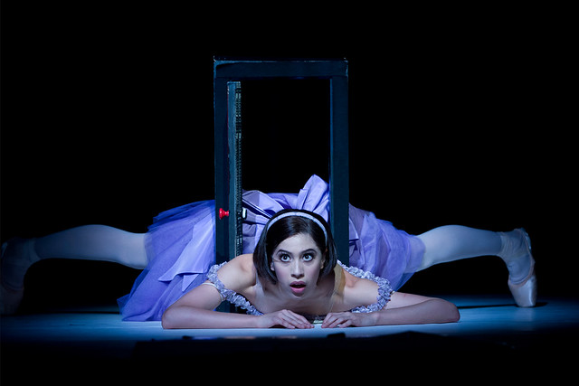 Beatriz Stix-Brunell as Alice in Alice's Adventures in Wonderland © Bill Cooper/ROH 2012