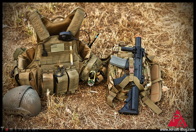 Elite Force M4 CQC, Elite Force Stubby M4, Elite Force Shorty M4, Airsoft Guns, Voodoo Tactical Level III Assault Pack, Tactical Gear, Condor Snakeskin Plate Carrier, Airsoft tactical gear, Military tactical gear, military kits, loadout, airsoft backup rifle, Pyramyd Airsoft Blog, Tom Harris Media, Tominator, Cliff Eisenbarger, Andy Green, Elite Force, Airsoft,