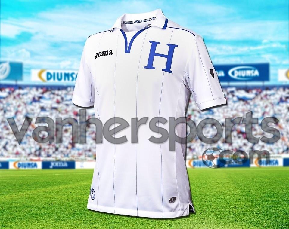 Camisa Selección de Honduras Eliminatorias Brasil 2014
