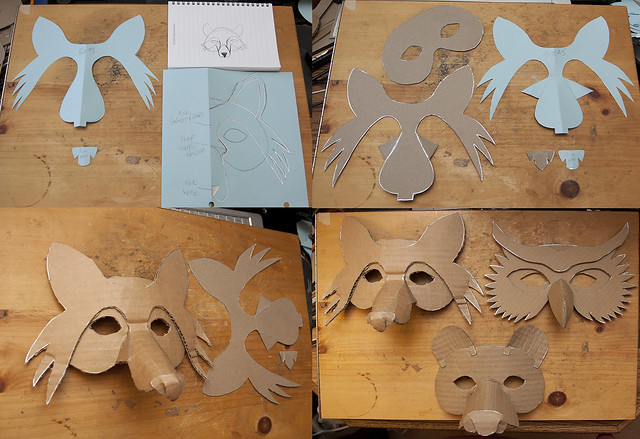 Cliff Notes Version of a simple Fox Mask & Group Shot