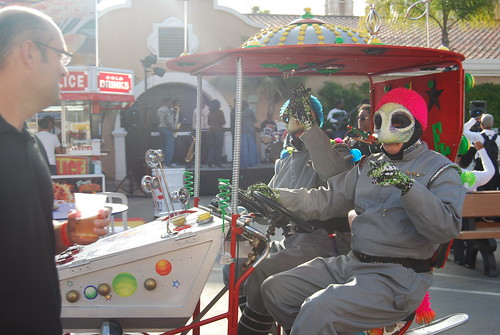 Motorized Aliens