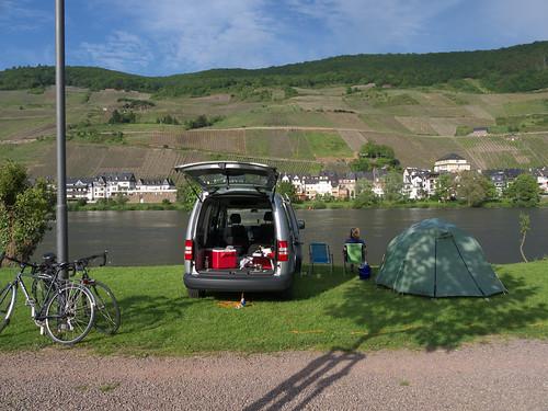 Camping at Zell