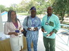 Chinwe ,Adesope and Friend at GIMPA Conference