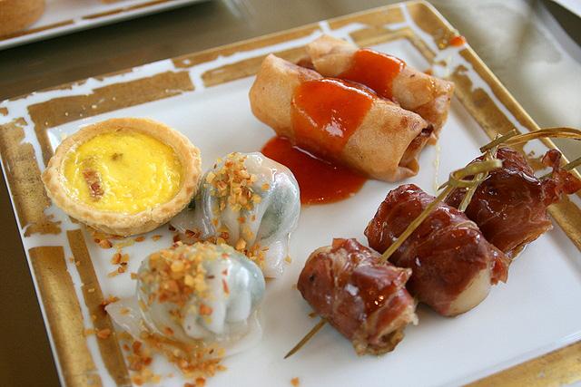 Savoury selections