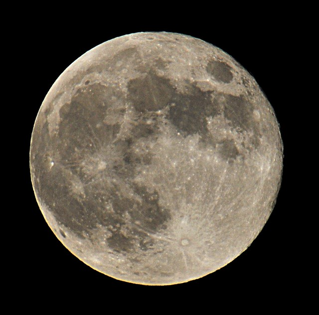 Full Strawberry Moon Tonight Full Moon 2012 June 4th