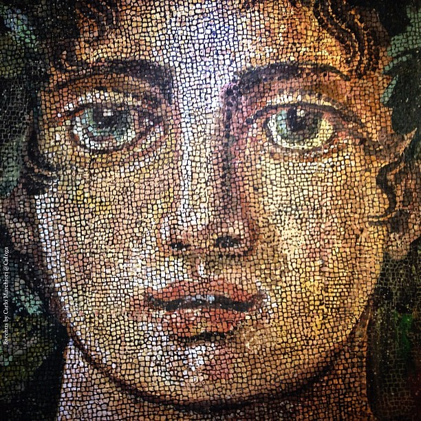 Bacchus #mosaic by Carlo Marchiori @Catoga · God of the gr ...